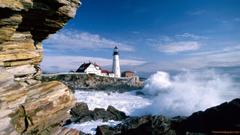 Portland Head Lighthouse Maine wallpapers