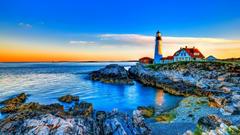 Portland Head Light Maine Wallpapers