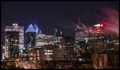Building Canada Montreal quebec night light cities monuments
