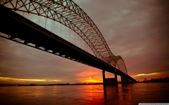 Up And Over The Mighty Mississippi HD desktop wallpapers