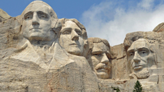 usa united states south dakota mount rushmore presidents rock HD