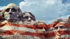 USWAZI TALENTED Mount Rushmore national memorial scruptured faces