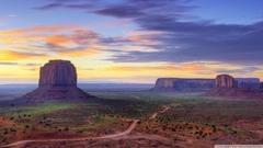 Utah Monument Valley Road HD desktop wallpapers Fullscreen