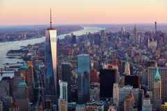 One World Trade Center Building in New York City Wallpapers