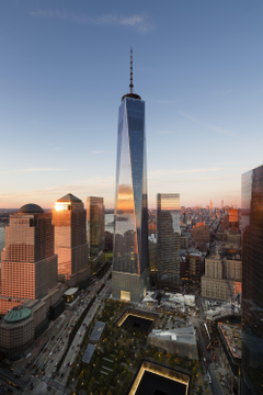 Gallery of Image of SOM s Completed One World Trade Center in New