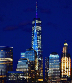 Tonight Change the color of One World Trade Center s spire from