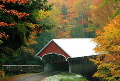 Hampshire Tag wallpapers Covered Bridge Franconia State Park New