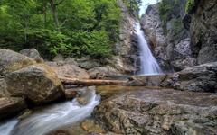 Glen Ellis Falls in New Hampshire wallpapers