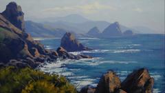 Paintings ocean oregon wallpapers