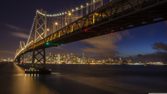 San Francisco Oakland Bay Bridge 4K HD Desktop Wallpapers for 4K