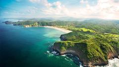 Coast of Nicaragua Bakgrund and Bakgrund