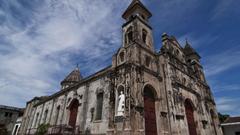 Religious Church Guadeloupe Granada Nicaragua Iglesia Statue Bell