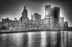 Modern Providence Rhode Island City Architecture HD Backgrounds for