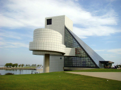 Cool photos of the Rock and Roll Hall of Fame and Museum Places