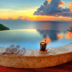 Wallpapers Jade Mountain Resort Saint Lucia The best hotel pools