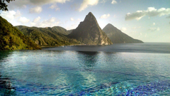 Caille Blanc Villa Soufriere St Lucia Wallpapers13