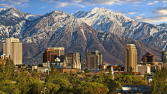 Wasatch Range And Salt Lake City Wallpapers