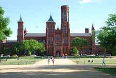 Smithsonian Castle on the National Mall Travel Wallpapers and