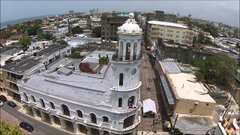 DRONE TOUR Santo Domingo Dominican Republic DR RD DJI Phantom