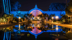 Botanical Building And Lili Pond Balboa Park San Diego UHD 8K