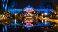 Botanical Building And Lili Pond Balboa Park San Diego UHD 8K