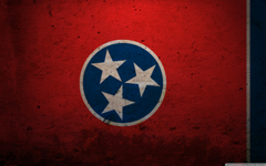 Grunge Flag Of Tennessee 4K HD Desktop Wallpapers for 4K Ultra HD