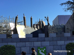 Universal Studios Hollywood Construction Update December 2014