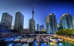 Toronto Canada Harbour Front City HD Wallpapers