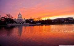 United States Capitol Washington DC 4K HD Desktop Wallpapers for