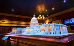United States Capitol The Disneyland Story presenting Great Moments