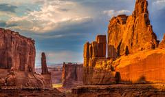 landscapes rocks USA Arches National Park Utah Wallpapers