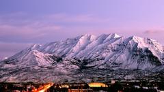 Mountain Utah Ranges Landscape Scenic Wallpapers High Resolution
