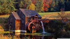 Gristmill Guilford Vermont 4K HD Desktop Wallpapers for 4K