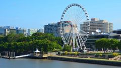 The Big Wheel In South Bank Brisbane Computer Wallpapers Desktop