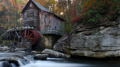 Other Old Babcock State Park West Virginia WV Autumn Water USA
