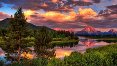 Grand Teton National Park Mount Moran Wallpapers