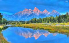 Pretty Grand Teton Wyoming wallpapers