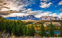 Grand Teton National Park Autumn 4K HD Desktop Wallpapers for 4K