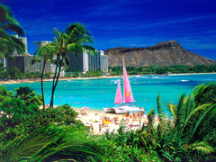Waikiki Oahu Hawaii Wallpapers in jpg format for