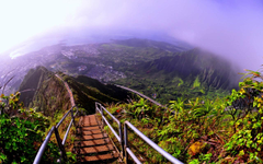Haiku Stairs Oahu Hawaii wallpapers