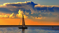 Oceans Clouds Rocks Skies Green Landscape Ocean Pacific White