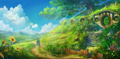 Once Upon A Time In Hobbiton by DaleComte