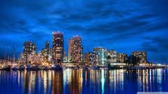 Waikiki Skyline At Night HD desktop wallpapers High Definition