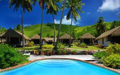 x1200 Fiji Dream Island Fiji Rest Bungalows Fiji Beach