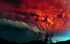 Papua new guinea volcanic eruption