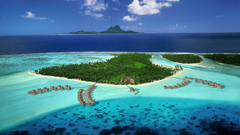 French Polynesia Resort HD Wallpapers