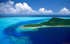Stress Relief Bora Bora French Polynesia wallpapers