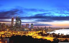 Perth At Night HD desktop wallpapers High Definition Fullscreen