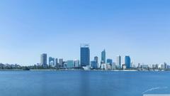 Perth City Panorama HD desktop wallpapers Widescreen High