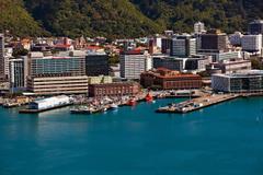 Photo New Zealand Wellington Berth Coast Cities